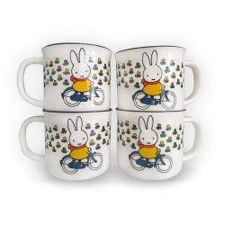 miffy on the bike retro mug...
