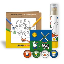 Miffy color cards package